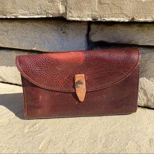 Vintage ELK leather wallet